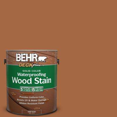 1 gal. #PPU3-16 Maple Glaze Solid Color Waterproofing Exterior Wood Stain