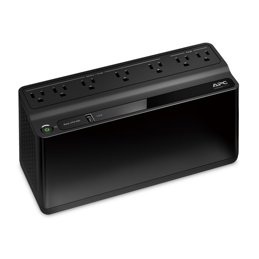Back-UPS 600VA 7-Outlet and 1-USB Battery Backup
