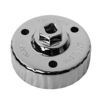 75.5 mm. x 30 Flute Mazda Snug Fit Oil Cap Wrench, Chrome
