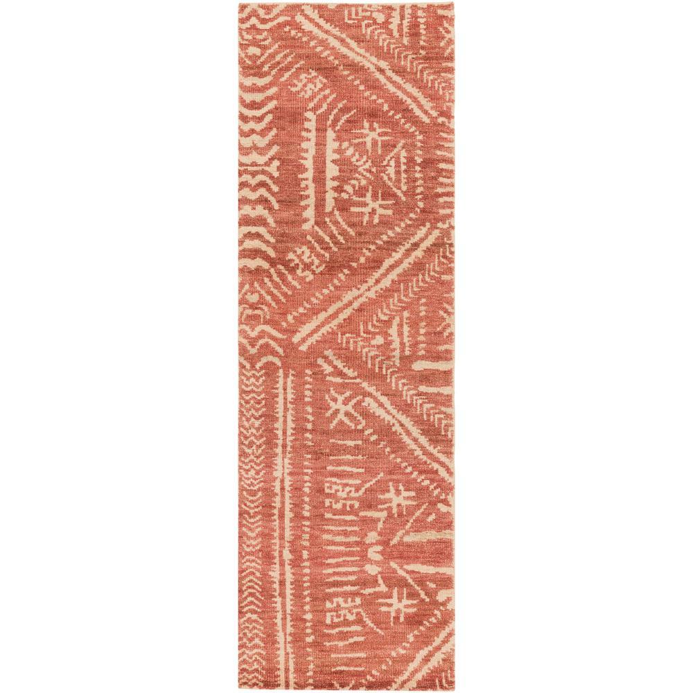 Artistic Weavers Bernadette Burnt Orange 3 Ft. X 8 Ft
