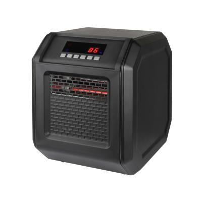 1,500-Watt Electric Infrared Space Heater with Remote Control