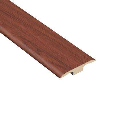 Bamboo Cherry 1/4 in. Thick x 1-7/16 in. Wide x 94 in. Length Vinyl T-Molding