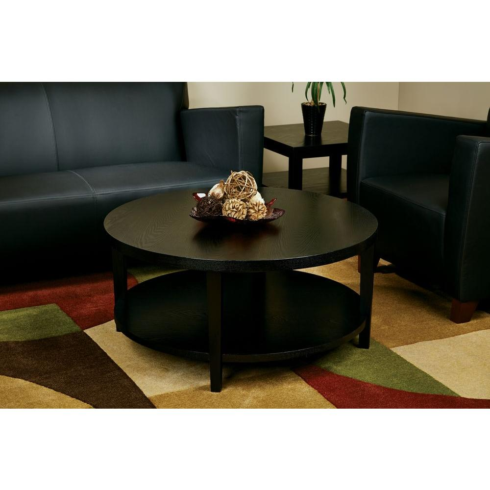Ave Six Merge Black Coffee Table