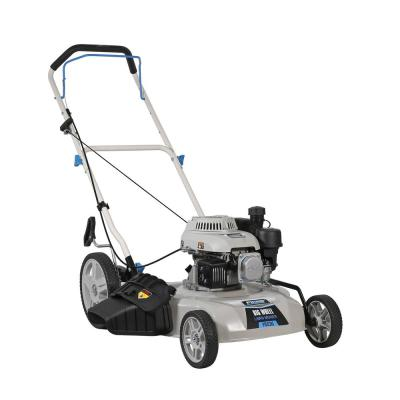 20 in. 150 cc Gas Recoil Start Walk Behind Push Mower with 5 Position Height Adjustment and Large Rear Wheel