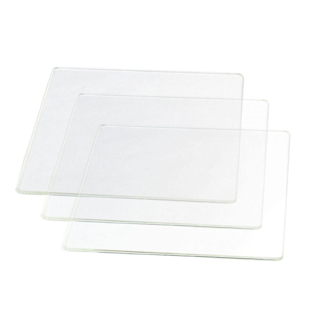 Borosilicate Glass Printing Surface (3-Pack) for H-Series 3D Printers