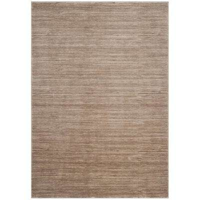 Vision Light Brown 3 ft. x 5 ft. Area Rug