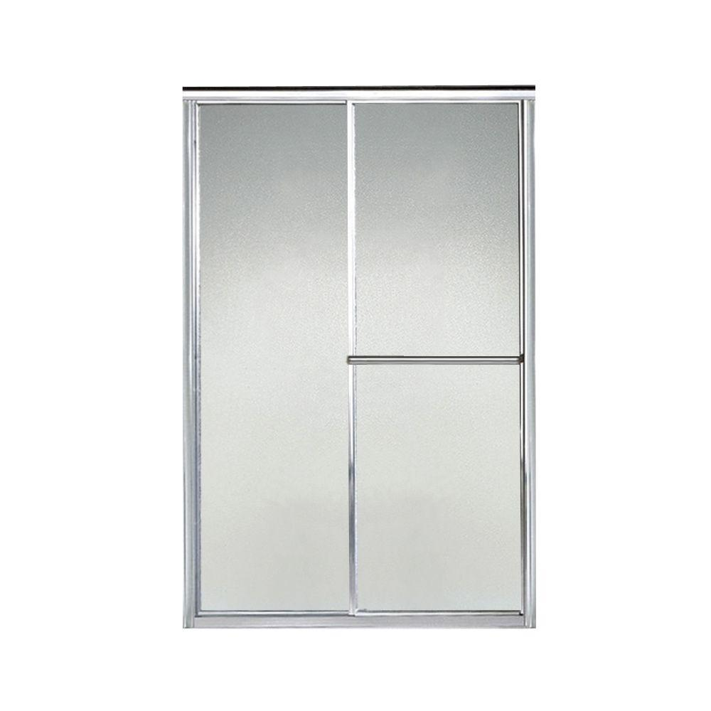 Sterling Deluxe 48 In X 65 1 2 In Framed Sliding Shower