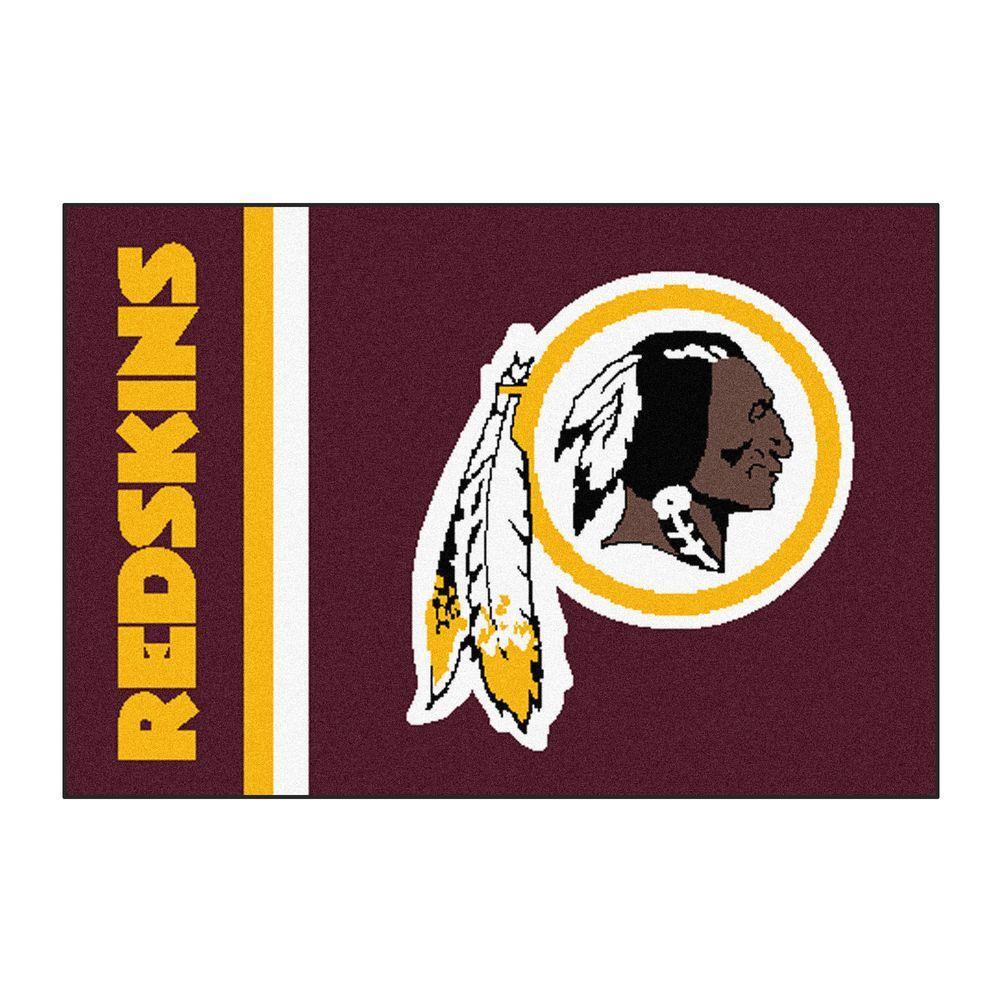 Fanmats Nfl Washington Redskins Maroon Uniform Inspired 2 Ft X 3