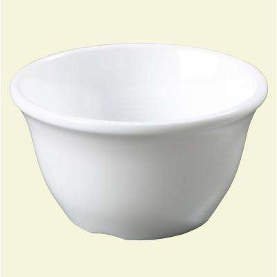 7.6 oz., 3.94 in. Diameter Melamine Bouillon Cup in White (Case of 48)