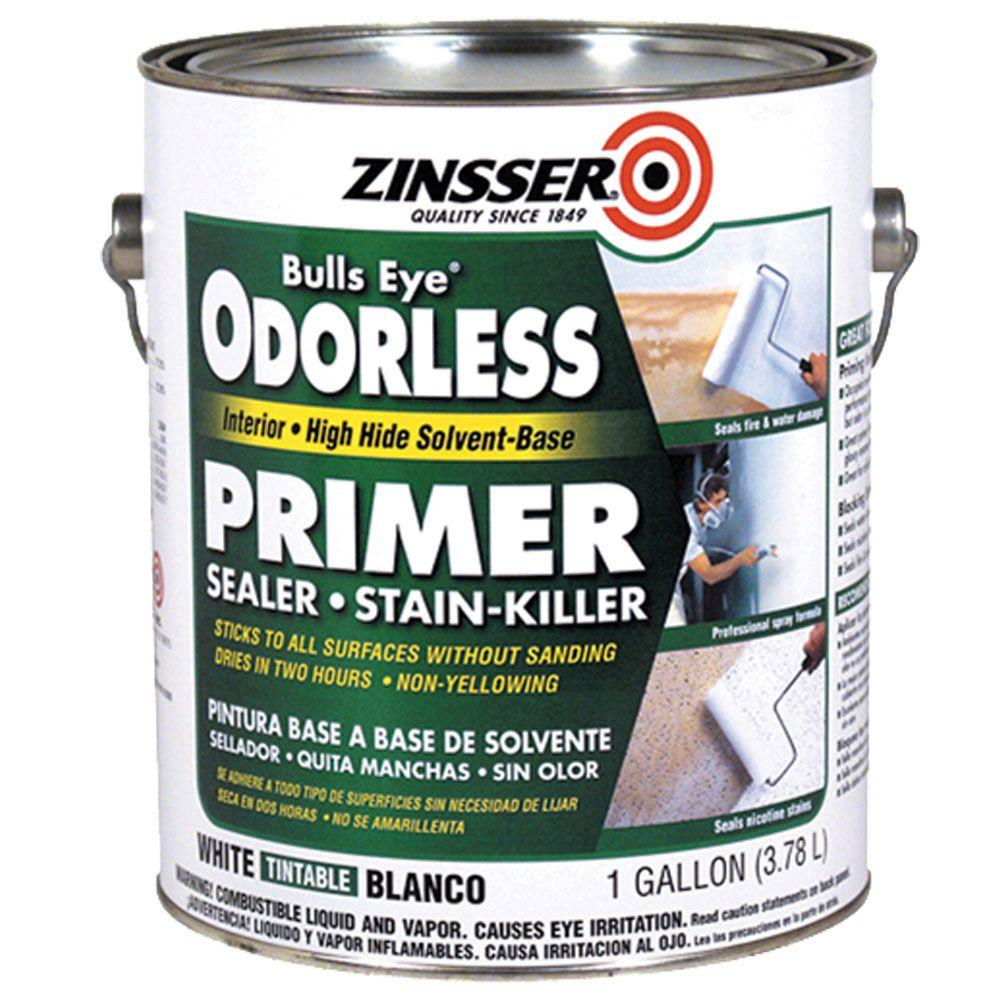 Zinsser Bullseye 1-gal. High Hide Odorless Primer Sealer-DISCONTINUED