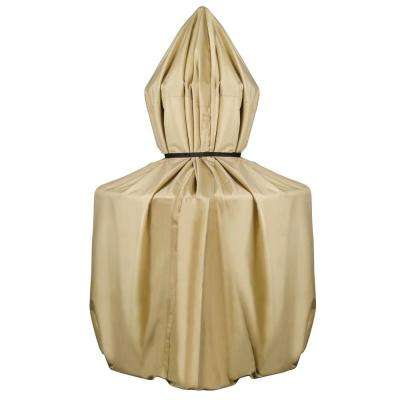 70 in. Fountain Cover in Khaki