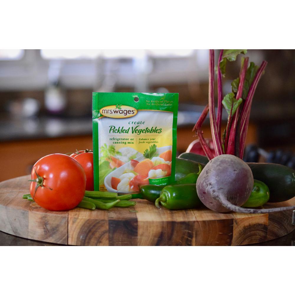 Pickled Vegetables Canning Mix (12-Pack)