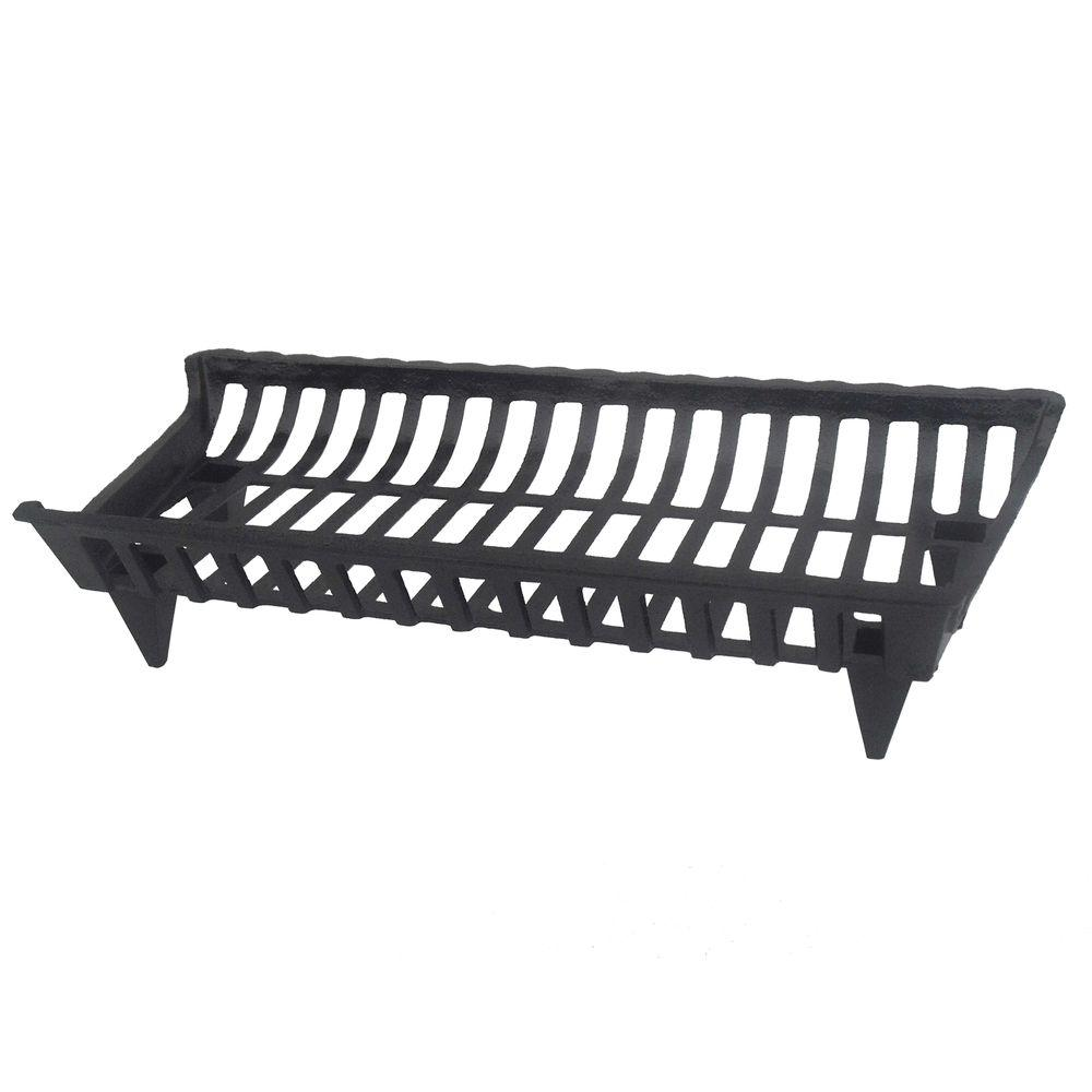 Pleasant Hearth 30 In Cast Iron Grate Cg30 The Home Depot