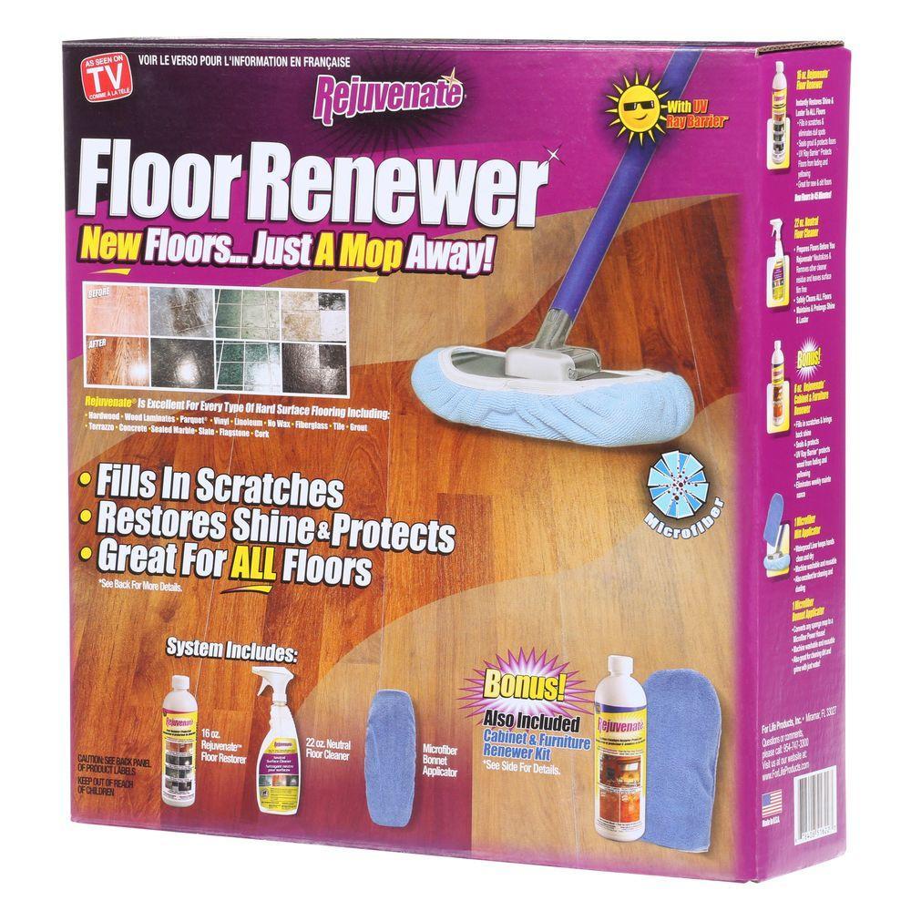 Rejuvenate 16 oz. Floor Renewer System