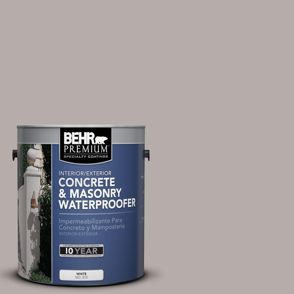 BEHR Premium 1 gal. #BW-53 Smoked Topaz Concrete and Masonry Waterproofer
