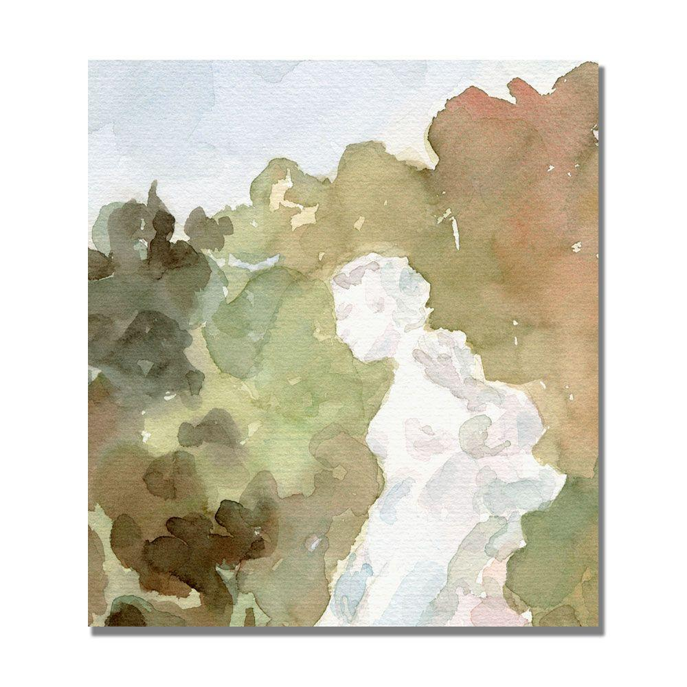 null 24 in. x 24 in. Statue of a Woman France Canvas Art-DISCONTINUED