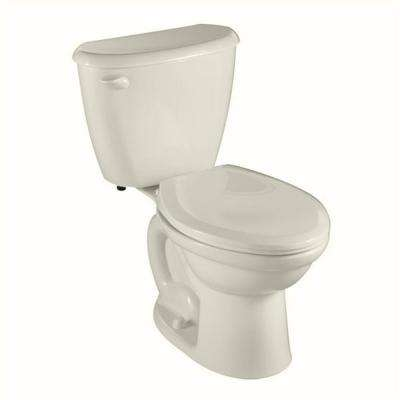 Colony FitRight Right Height 10 in. Rough-In 2-Piece 1.6 GPF Single Flush Elongated in Linen