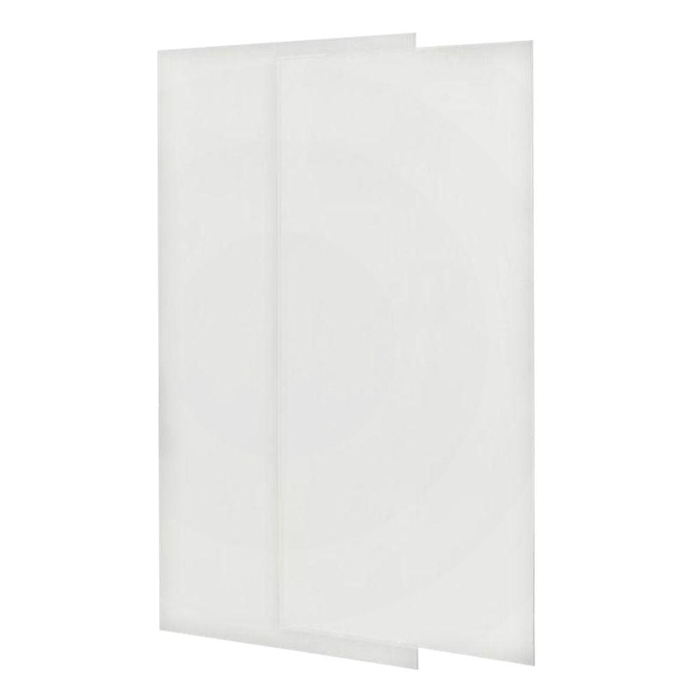 Swan 36 In X 72 2 Piece Easy Up Adhesive Shower Wall