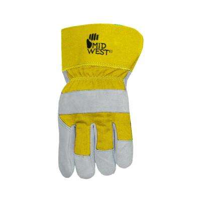 Women's Lined Split Leather Palm Gloves