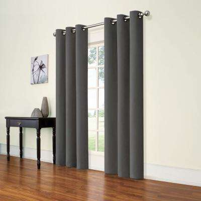 Andora Smoke Blackout Window Panel - 42 in. W x 84 in. L