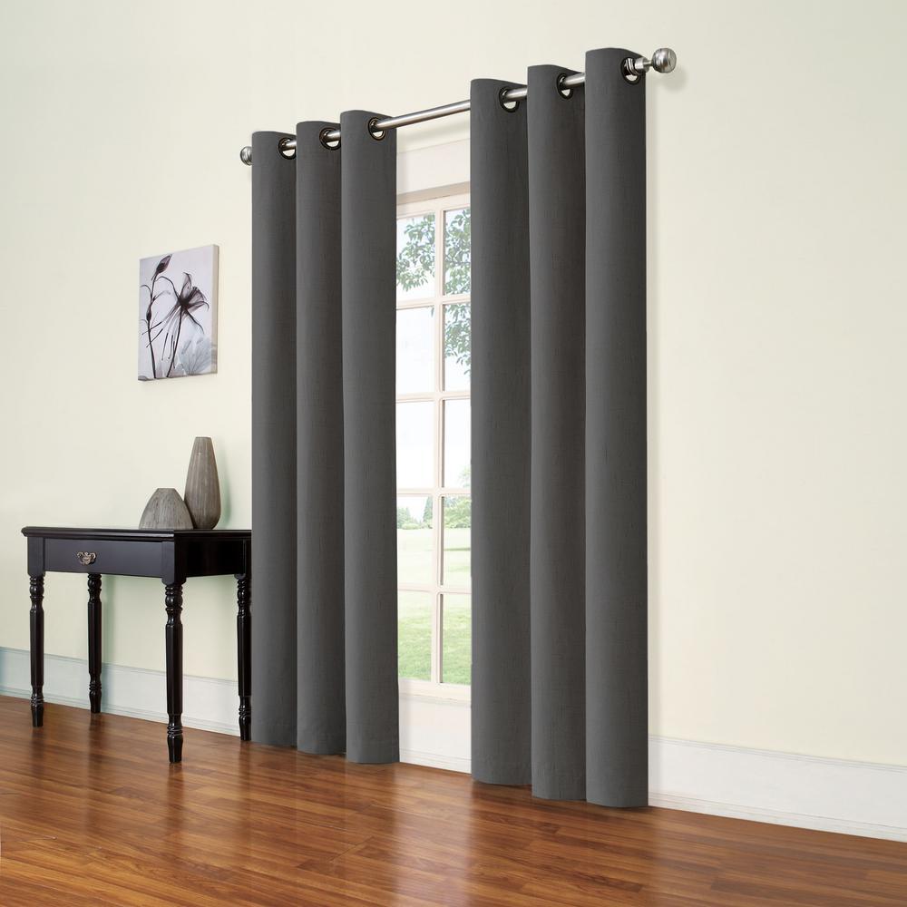 Andora Smoke Grommet Panel