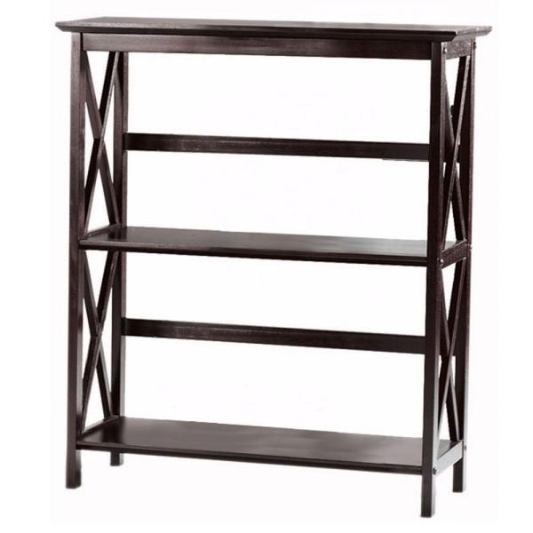 Casual Home Montego Espresso Open Bookcase 0218310820