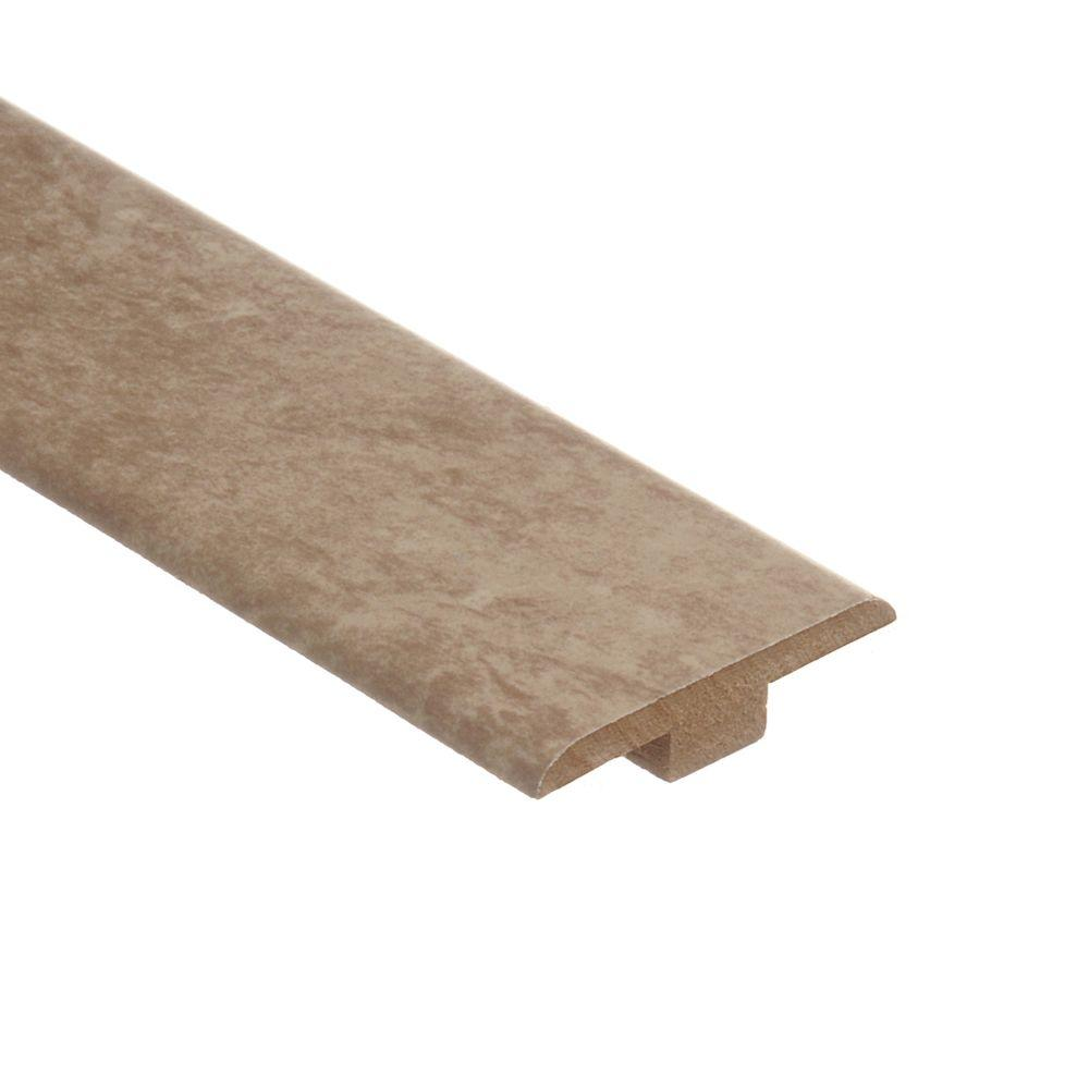 Zamma Lissine Travertine 7/16 in. Thick x 1-3/4 in. Wide x 72 in. Length Laminate T-Molding