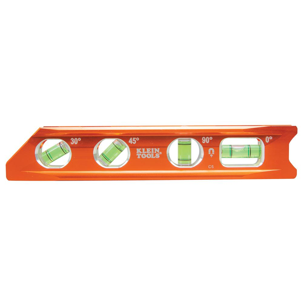 Klein Tools 8 In Rare Earth Magnet Torpedo Billet Level 935rb The Home Depot
