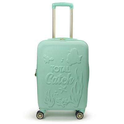 Disney Princess Ariel Little Mermaid 21 in. Teal Hard-Sided Carry-On Luggage