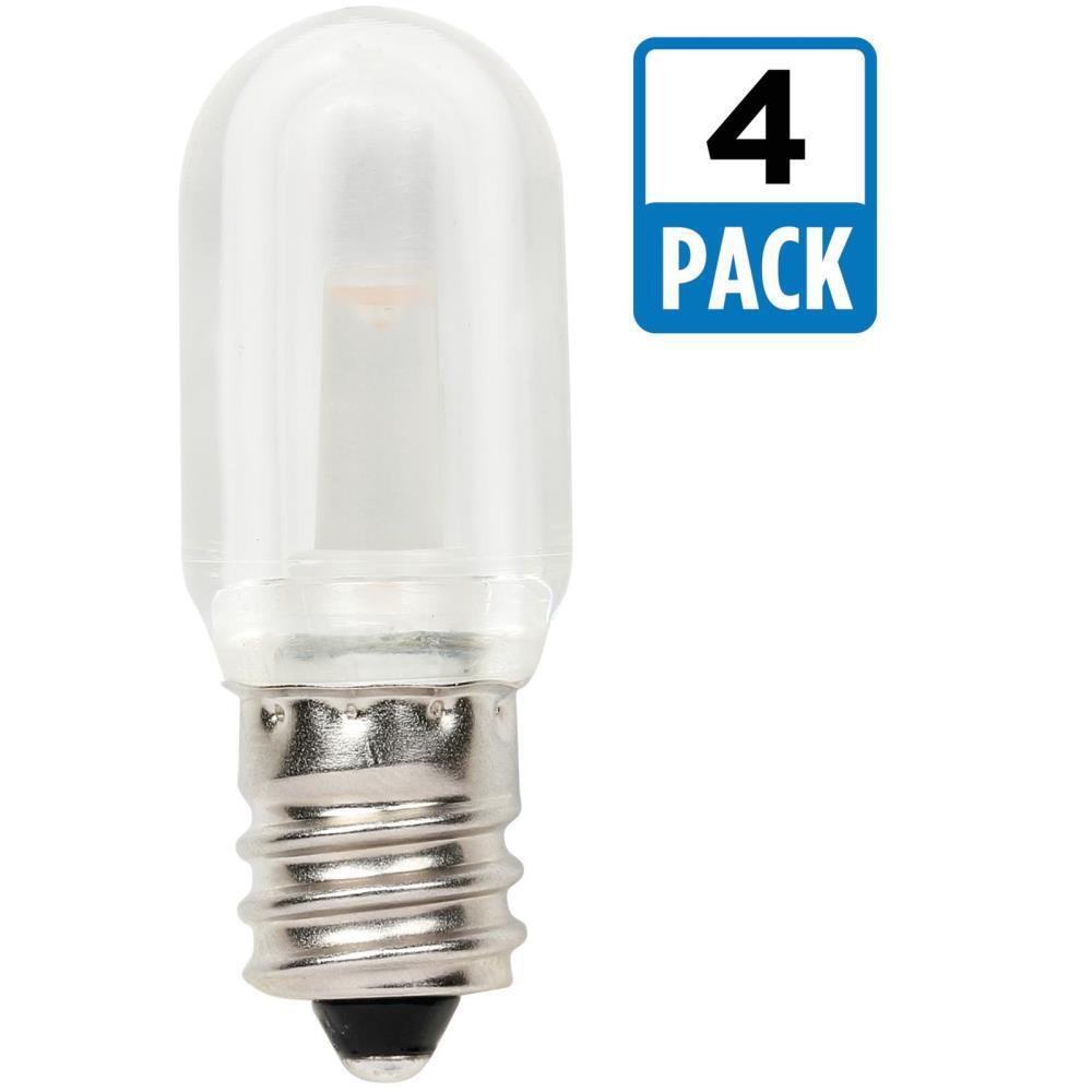 10w equivalent soft white t7 led light bulb 4pack