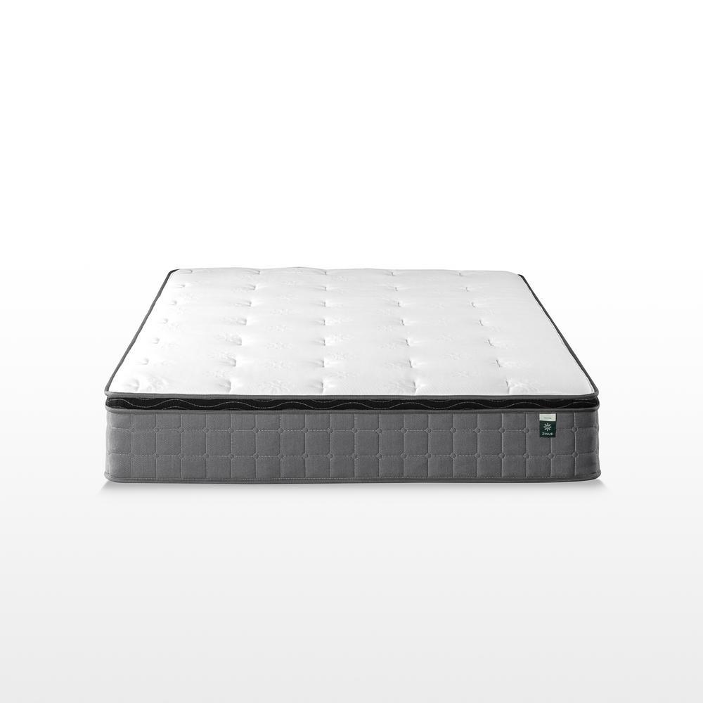 Cool Touch Comfort Gel 10 Inch Medium Euro Top Full Hybrid Mattress