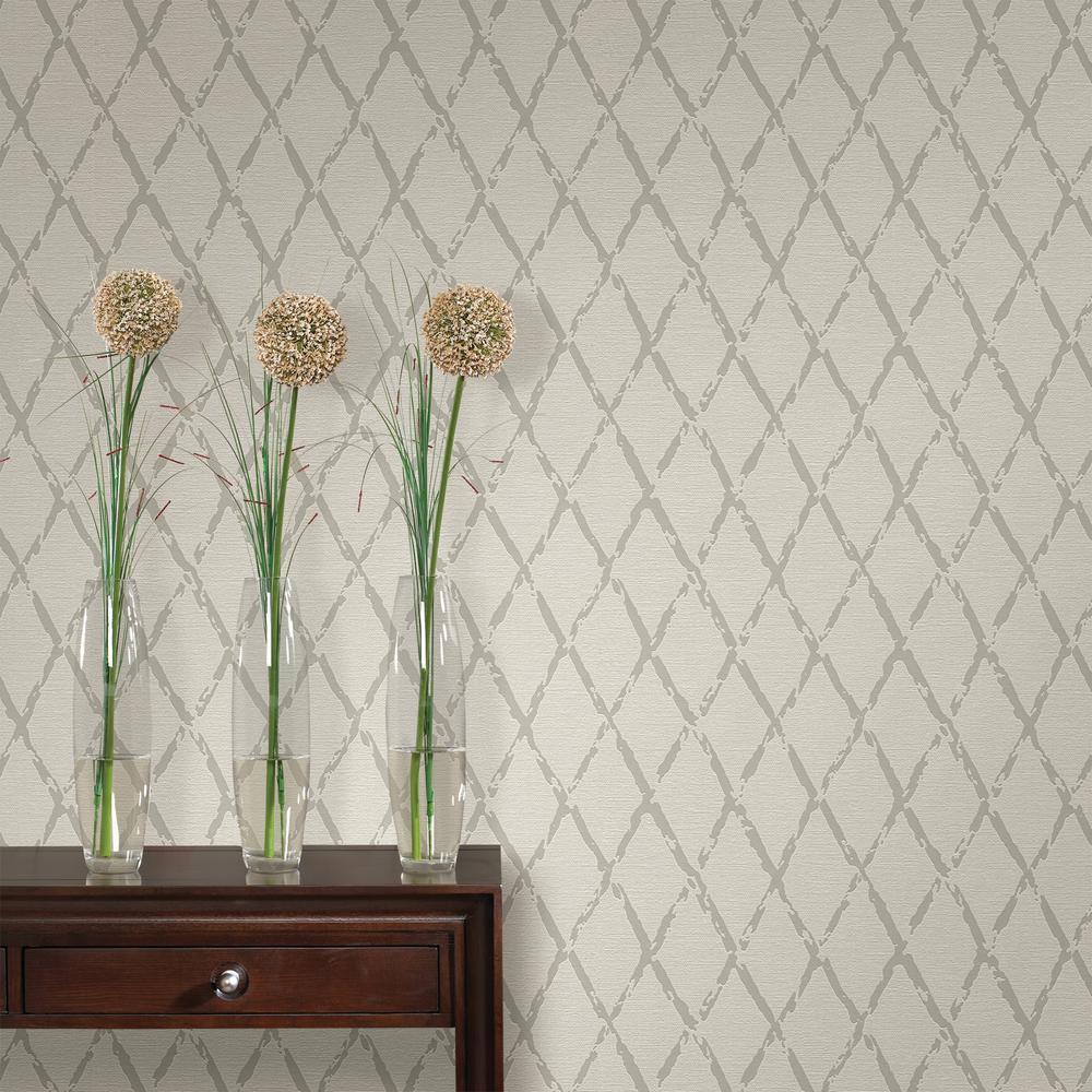 Duncan Grey Harlequin Wallpaper