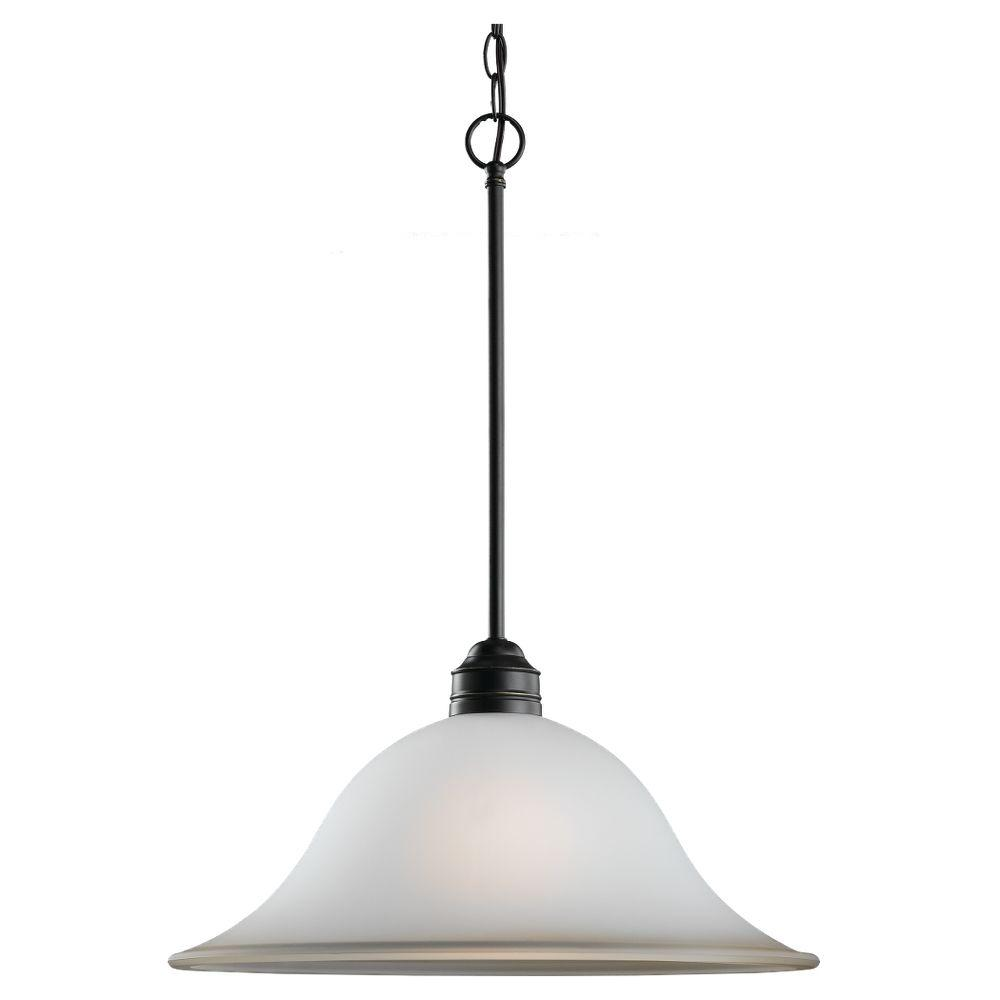 Sea Gull Lighting Gladstone 1-Light Heirloom Bronze Pendant
