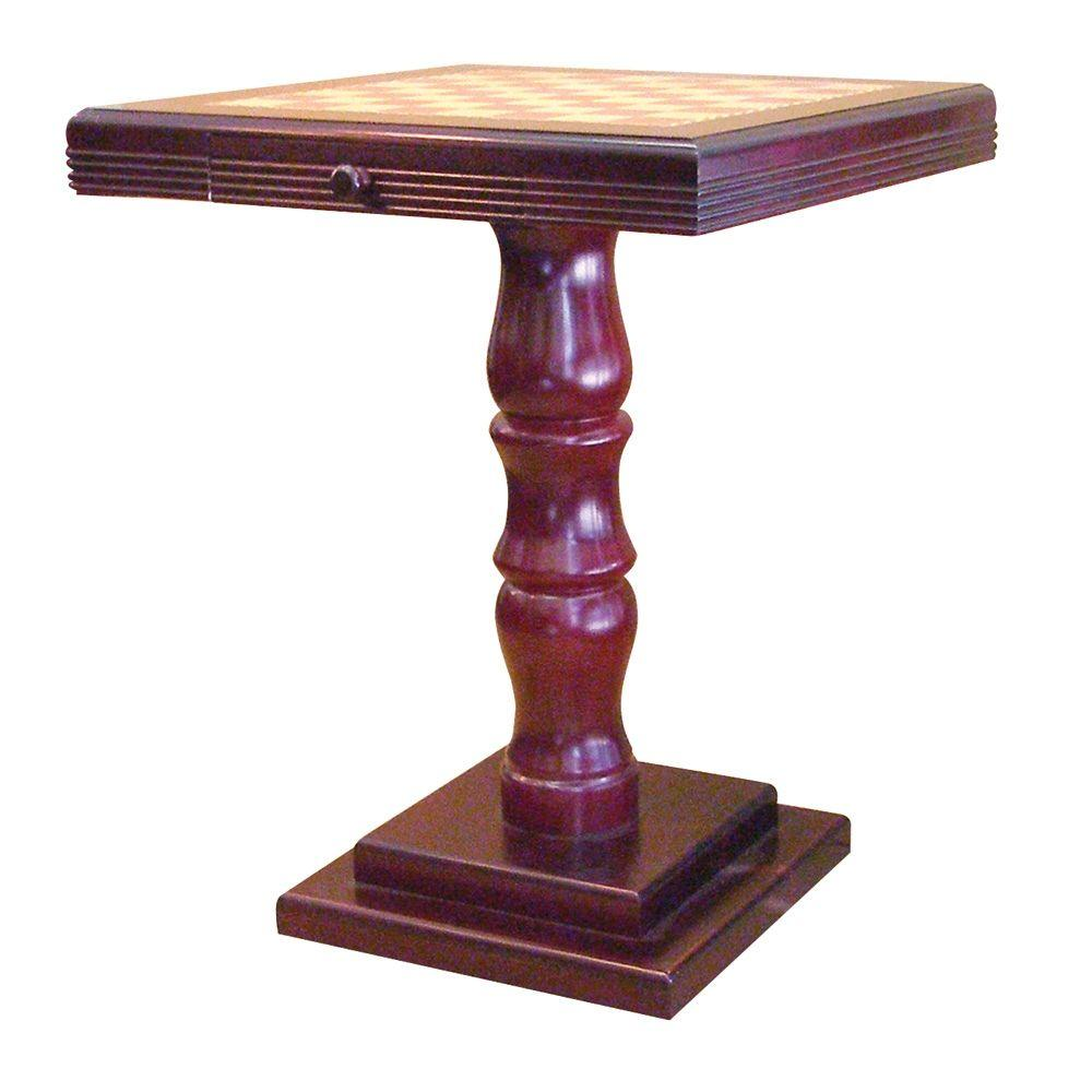 Home Decorators Collection Cherry Chess End Table