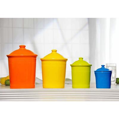 3 Qt. Daffodil Large Canister with Lid