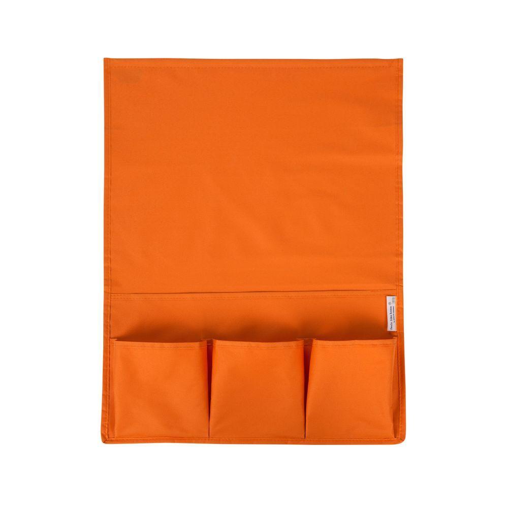 Storit Small Orange Polyester Bedside Storage Caddy