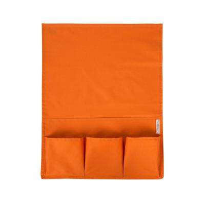Storit Small Orange Polyester Bedside Storage Caddy 1-Pack