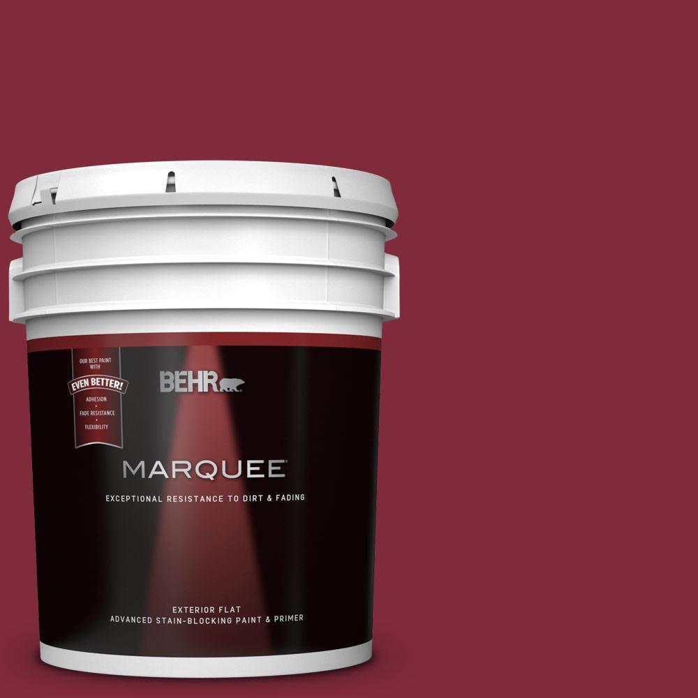 S H 130 Red Wine Flat Exterior Paint And