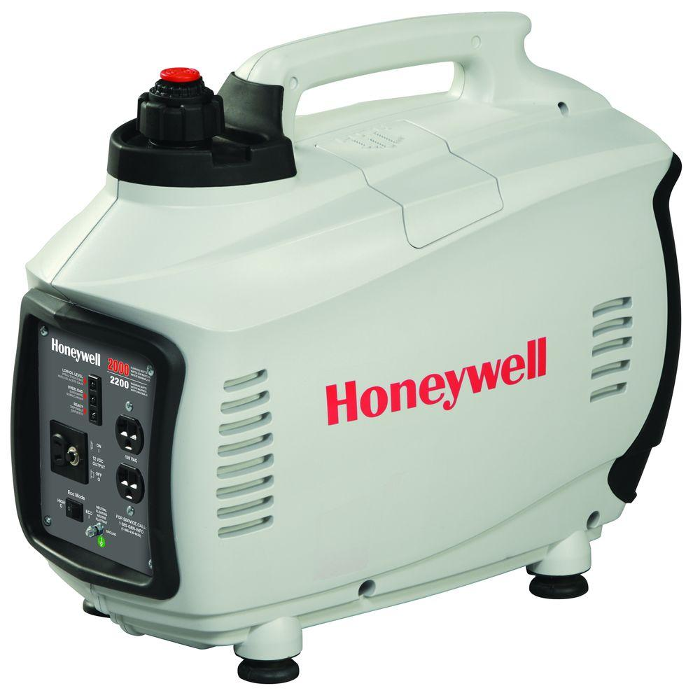 Honeywell 2,000-Watt Gas Powered AC Power Inverter