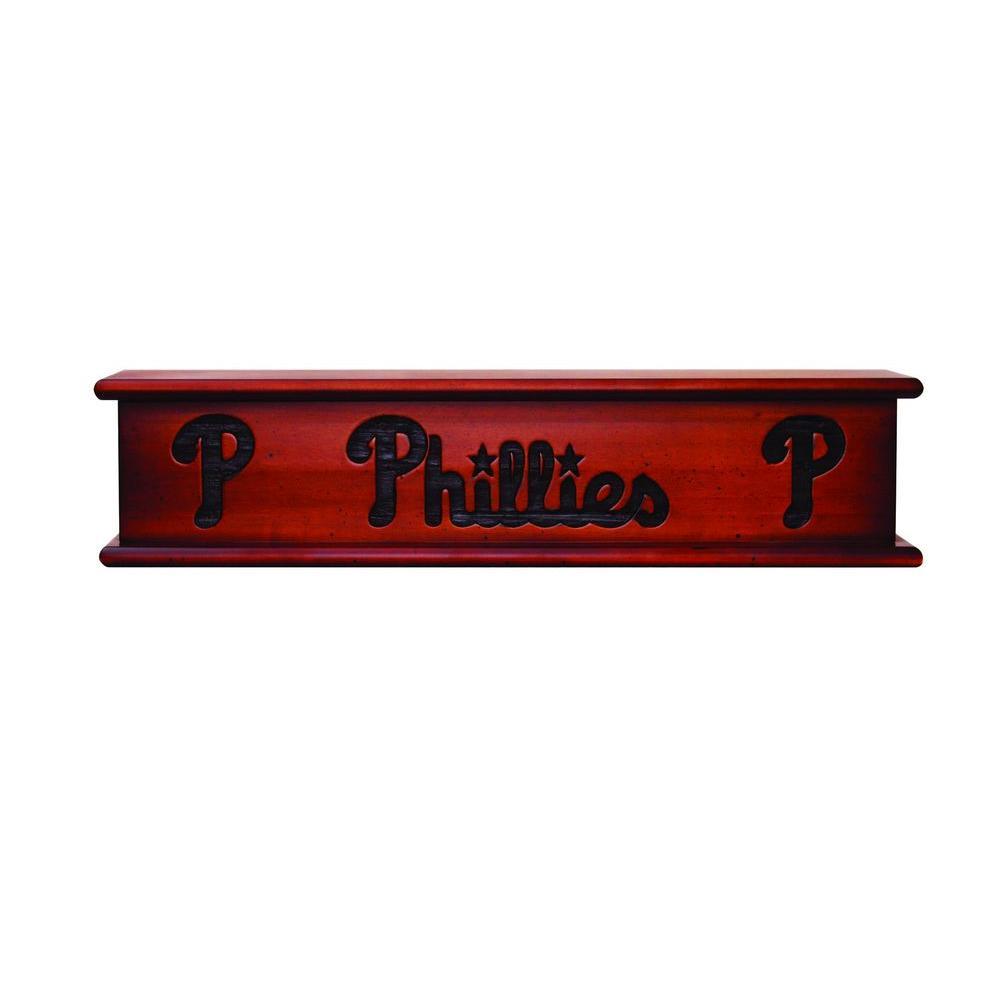Philadelphia Phillies 1.7 ft. Memorabilia Cap-Shelf Mantel