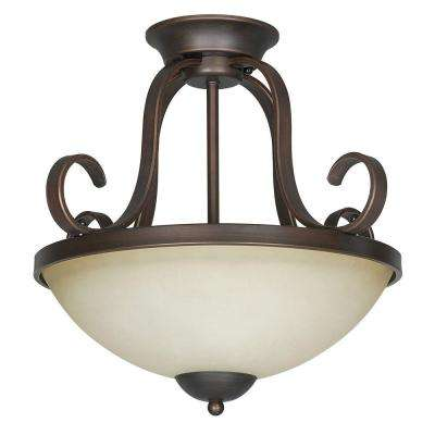 Provano 2-Light Tique Flush Mount