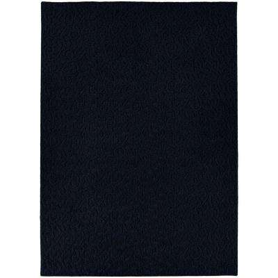 Ivy Navy 6 ft. x 9 ft. Area Rug