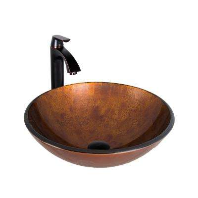 Glass Vessel Sink. Vessel Sinks   Bathroom Sinks   The Home Depot