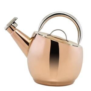 Click here to buy Old Dutch DuraCopper 10.57-Cup Stovetop Tea Kettle in Copper by Old Dutch.