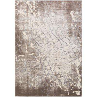 Neptune Taupe 7 ft. 10 in. x 10 ft. 10 in. Indoor Area Rug