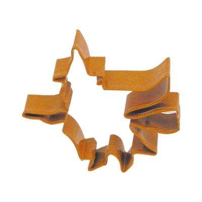 12-Piece 4.75 in. Flying Witch Orange Polyresin Cookie Cutter/Recipe
