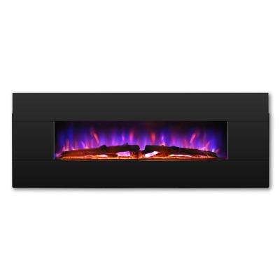Reflektor 1000 sq.ft. CSA Certified Electric Fireplace with Heater Remote Controlled Multiple Lighting Flame Effects