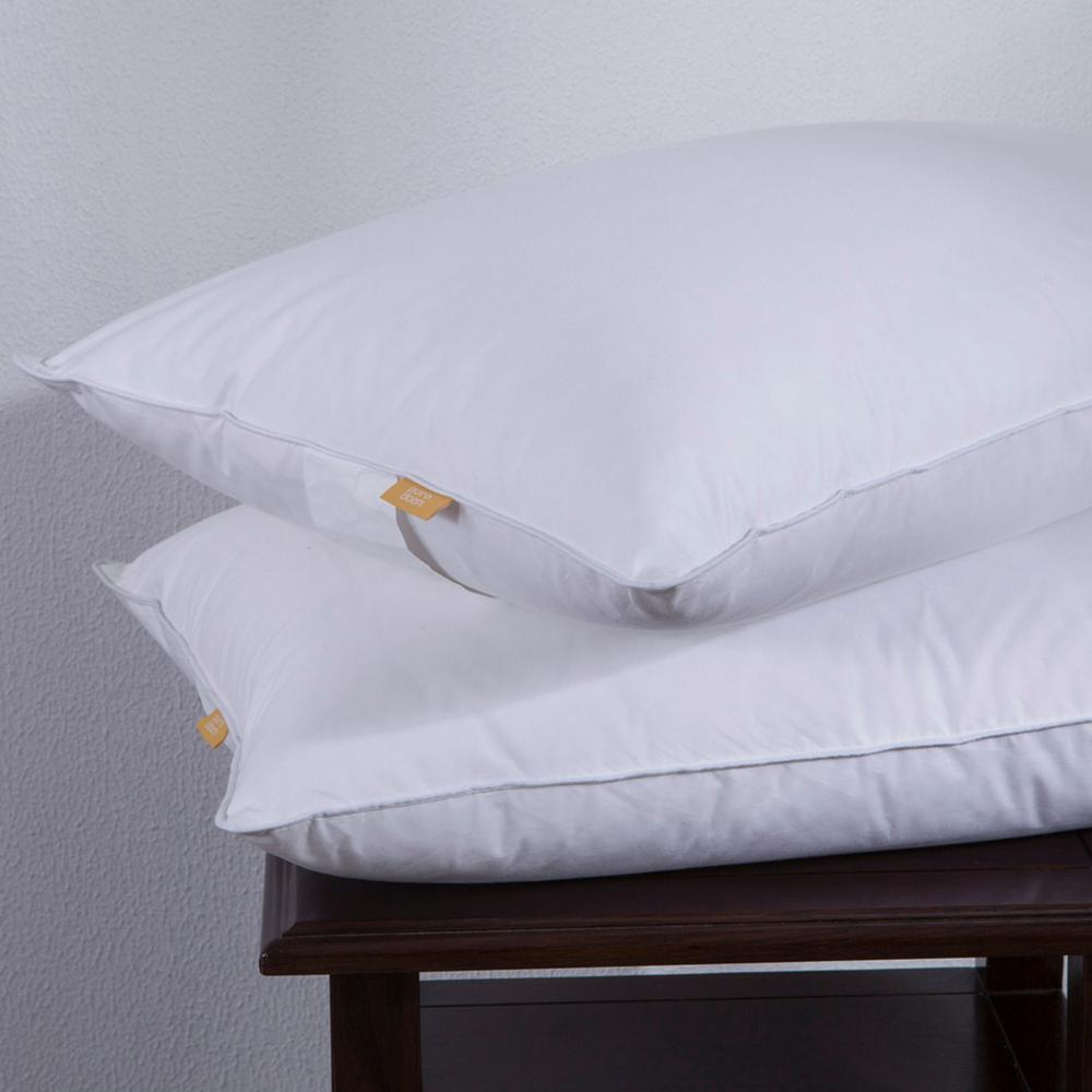 Pure Down Puredown White Goose Down And Feather Bed Pillow