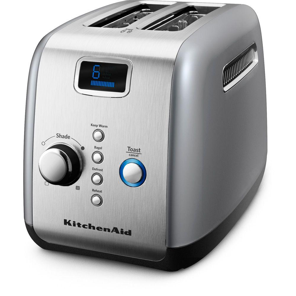 KitchenAid 2-Slice Toaster in Contour Silver