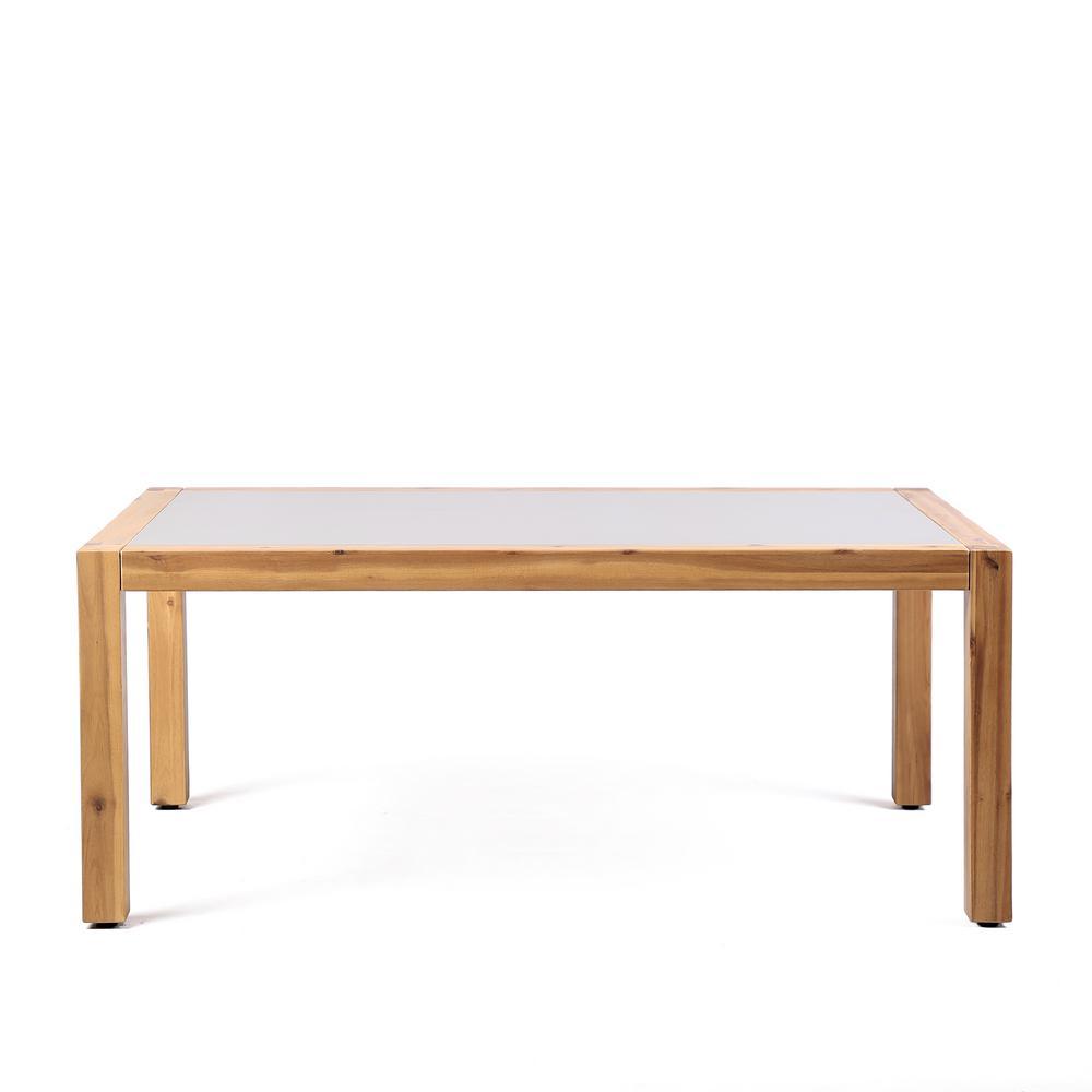 Sienna Teak Acacia Wood Outdoor Patio Coffee Table